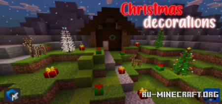 Скачать Christmas Decorations для Minecraft PE 1.16