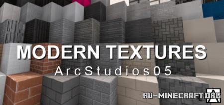 Скачать Modern Textures - ArcModern V.1 для Minecraft PE 1.16
