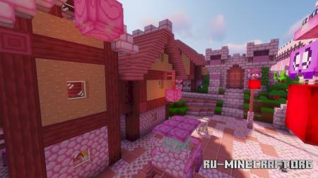 Скачать Kawaii World [16x] для Minecraft 1.16