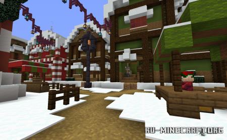 Скачать Trouble in Christmas Town для Minecraft