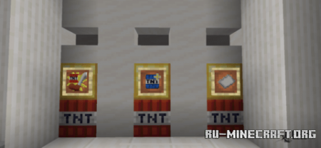 Скачать TNTman (Bomberman Map) для Minecraft PE