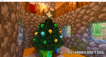 Скачать Christmas Time для Minecraft PE 1.16