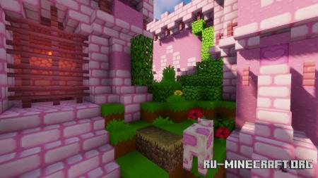 Скачать Kawaii World [16x] для Minecraft 1.15