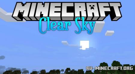 Скачать Clear Skies для Minecraft 1.16.4