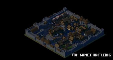 Скачать City of Uxkhal для Minecraft