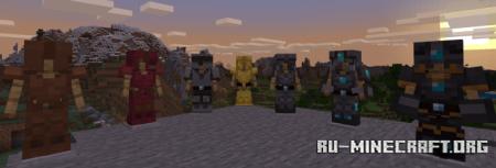 Скачать Tals Armour Rework для Minecraft PE 1.16