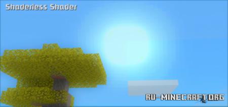 Скачать Shaderless Shader для Minecraft PE 1.15