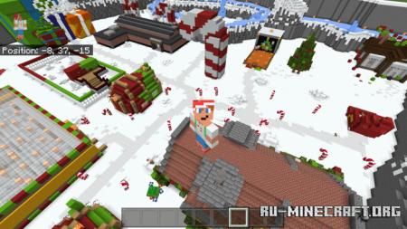 Скачать Christmas Minigames для Minecraft PE