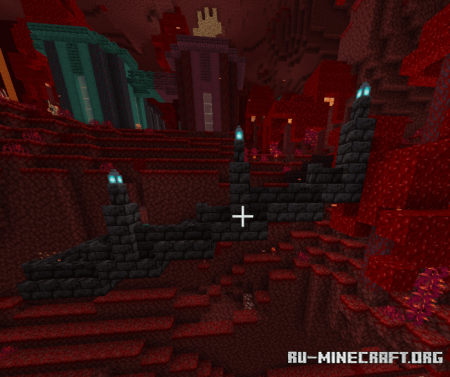Скачать The Nether Survival Outpost для Minecraft PE