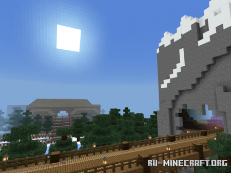 Скачать SnowBlocc: A Winter Wonderland для Minecraft PE