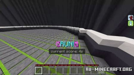 Скачать TNTRUN Advanced для Minecraft PE
