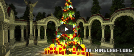 Скачать Christmas Tree by Trydar для Minecraft