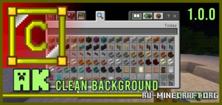 Скачать AK Clean Background для Minecraft PE 1.16