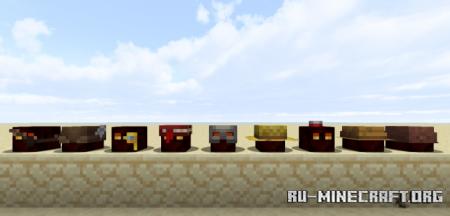 Скачать Slimes with Hats для Minecraft 1.16