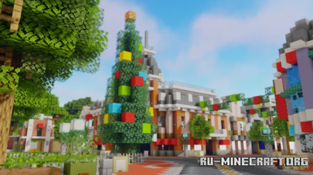 Скачать Disneyland Christmas Edition для Minecraft