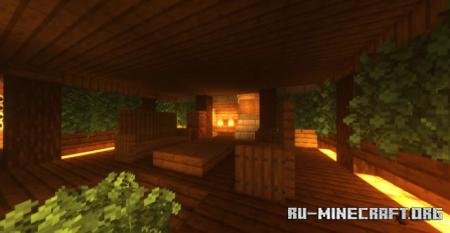 Скачать Xmas Trees and House для Minecraft