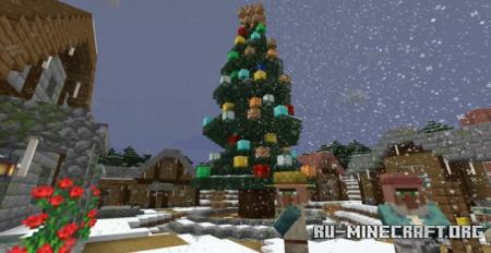 Скачать Christmas Town by MCisAwesome95 для Minecraft