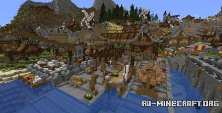 Скачать Medieval Shipyard для Minecraft