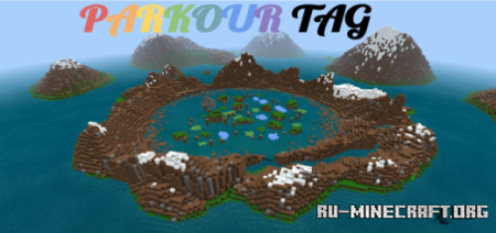 Скачать Parkour Tag – Run From The Killer для Minecraft PE