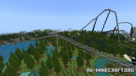 Скачать Savanna Paradise Resort для Minecraft PE