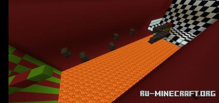 Скачать Fantasy Magic Parkour Map для Minecraft PE