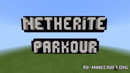 Скачать Netherite Parkour для Minecraft PE