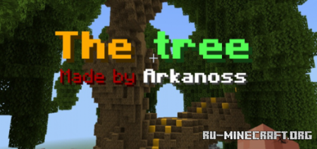 Скачать The Tree – Parkour and CTM Map для Minecraft PE