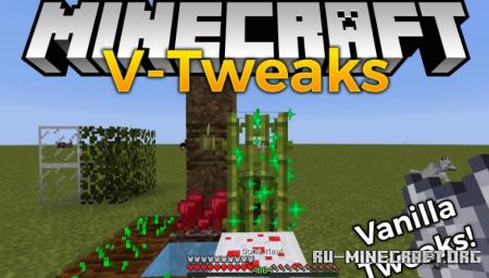 Скачать V-Tweaks для Minecraft 1.16.4