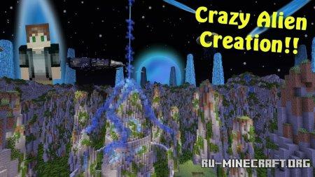 Скачать Insane Alien Parkour для Minecraft