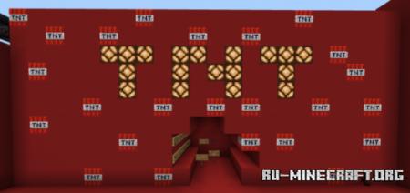 Скачать TnT Run by FirmFeet для Minecraft PE