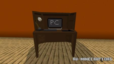 Скачать Screenfy's Furniture Pack: Living Room для Minecraft PE 1.16