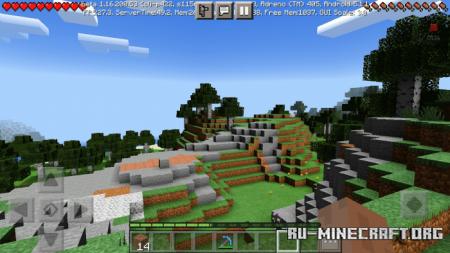 Скачать KGPE Shaders для Minecraft PE 1.16