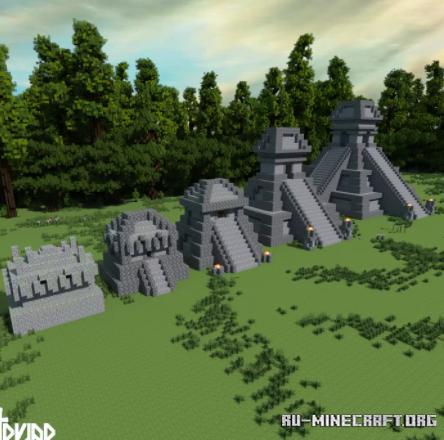Скачать Jungle Temple Upgrade для Minecraft