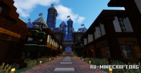 Скачать Medieval Castle by bro747 для Minecraft