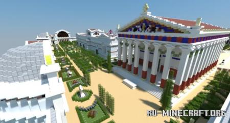 Скачать Roman Imperial Baths of Diocletian для Minecraft