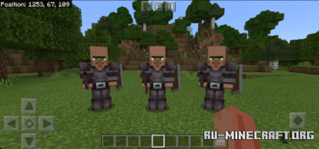 Скачать Valhalla Guards by Ronnie McDee для Minecraft PE 1.16