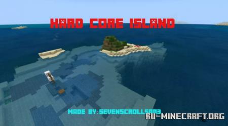 Скачать Simple Spawns: Hardcore island для Minecraft