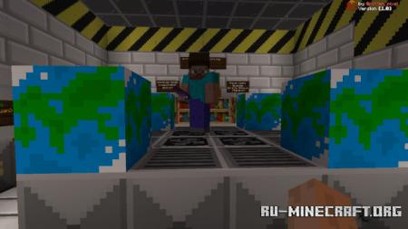 Скачать Survival Space Station Big Update для Minecraft PE