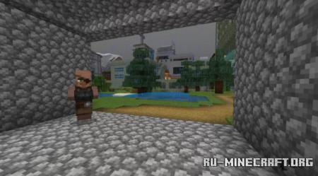 Скачать Bedrock City Tola для Minecraft