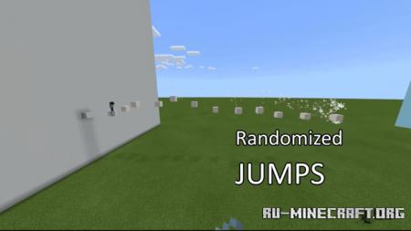 Скачать Infinite Parkour (Randomly Generated) для Minecraft PE