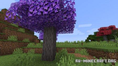 Скачать Tons of Trees для Minecraft 1.15.2