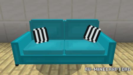 Скачать Screenfy's Furniture Pack V2 для Minecraft PE 1.16