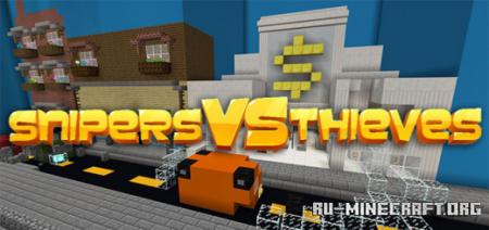 Скачать GCS Snipers Vs Thieves для Minecraft PE