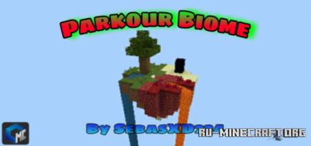 Скачать Biome Parkour by TEAM CUBITOS MC для Minecraft PE