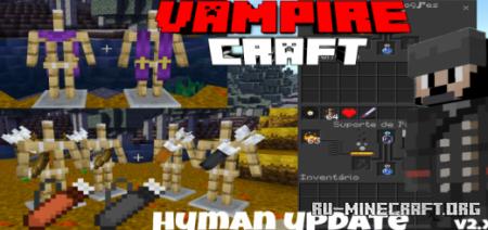 Скачать Vampire Craft – Humans для Minecraft PE 1.16