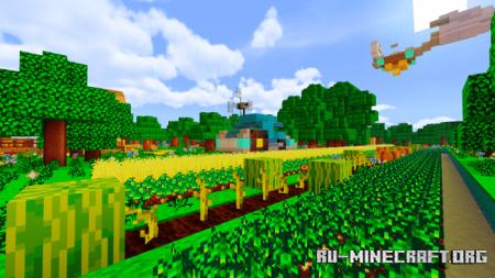 Скачать Stardew Valley [16x16] для Minecraft PE 1.16