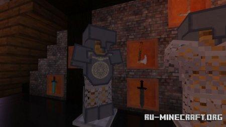 Скачать Luna 3D [32x] для Minecraft 1.16