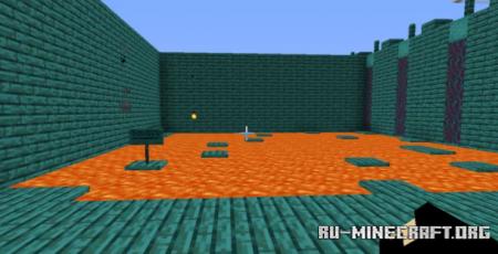 Скачать Warped Maze by Francesco для Minecraft