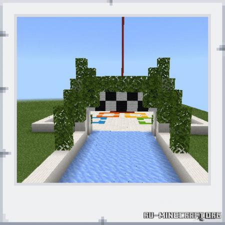 Скачать Boat Race by Kirito-06 для Minecraft PE