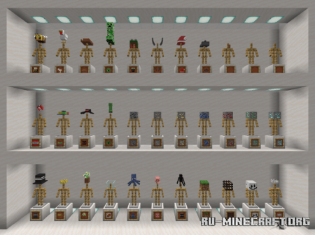 Скачать MB's More Hats для Minecraft PE 1.16